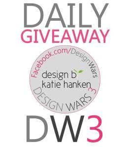 Daily Giveaway design by katie hanken