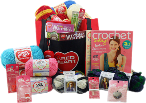Red Heart Yarns | DW3 Prize Pack