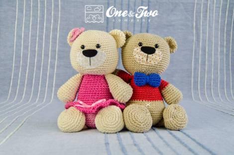 One & Two Co  Teddy Sweet Hugs | Design Wars 3 Crochet Pattern