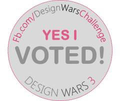 YES I VOTED DW3 BADGE