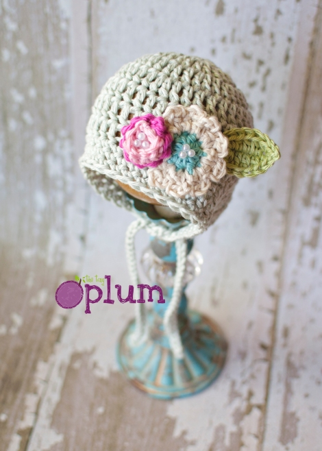 The Tiny Plum | Newborn Amelia Hat | Enter To Win!