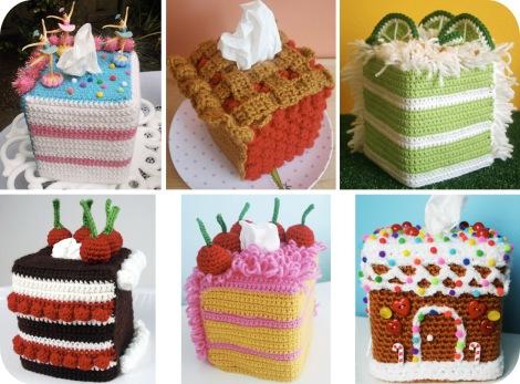 Twinkie Chan   Cake Tissue Box Cozy